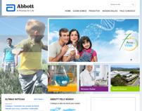 Abbott Institutional Concept Website