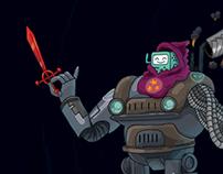Super Beemo Bot (Personaje de Munchkin HdA)