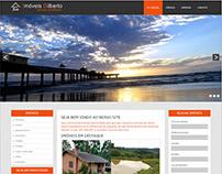 Site da Imobiliária Imóveis Gilberto