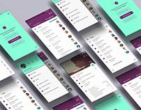 Clientry // App design