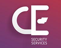 logo proposal CE Security Services