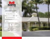 sitio web para inmobiliaria con apartado administrativo