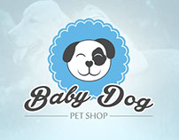 Pet shop Baby Dog - Identidade visual da marca