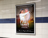 Afiche ''Cosas del Amor''