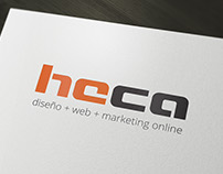 HECA  |  diseño + web + marketing online