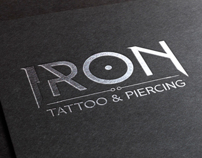 Logo Design & Branding- IRON Tattoo & Piercing