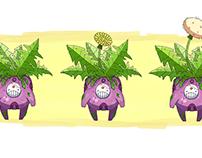 Maceta Dandelion