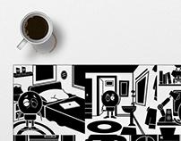 Tira cómica - Síntesis gráfica (Vida de un diseñador)