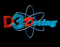 D3DESIGN LOGO 3D ART