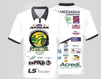 Camisa feita para o projeto de Garuva