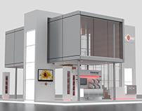 "Exhibition Stand ""Biofire"""