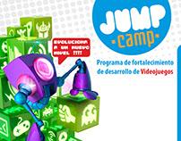 Andes Diseño de imagen Corporativo y Pagina Jum Camp