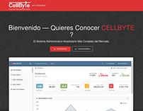 Diseño web cellbyte.co