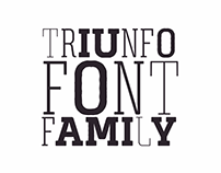 Posters TRIUNFO FontFamily