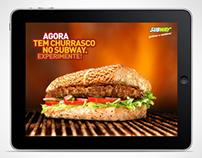Anúncio iPad | Subway - Abane este anúncio