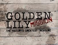 Golden Lily Mission - Flyer Design for SNAPTV