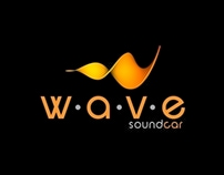 WAVE SoundCar - Logo / Identidade Visual