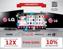 Anúncio TVs LG Supermuffato.com