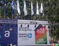 Carteleria y Banderas - Escenarios de Carnaval 2014