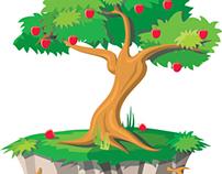 item / árbol valores