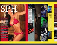Revista SPH febrero. Diseño y comunicación editorial.