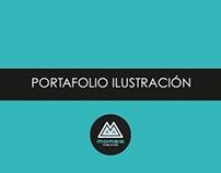 MORBA Publicitos Portafolio Ilustración