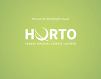 Manual de Identidade Visual Horto Florestal/Rebranding