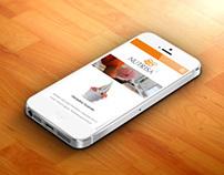 Rediseño página web Helados Nutrisa.