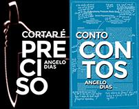 Two book covers - Conto Contos & Cortar é Preciso