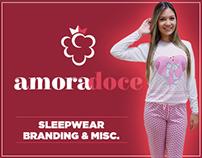 Amora Doce Sleepwear - Branding & Misc