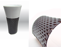 Diseño de Porcelana y cuero