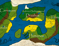 Mapas de Mundos Ficticios - Fictional worlds maps