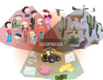 Ilustraciones Coquimbo Región Minera 2012 - 2013