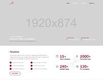 Maquetación y diseño de sitio web