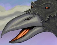 El cuervo sabio
