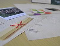 Convite de formatura da Arquivologia 2012