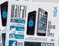 Newspaper ¨Waifai¨ (with Aldo Cruces)