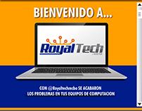 DISEÑO DE REDES SOCIALES (ROYALTECH C.A.)