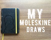 My Moleskine Draws! 2014-2015