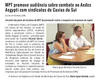 Notícias - site do Ministério Público do Trabalho RS