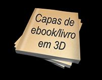 Capas de ebook/livro em 3D
