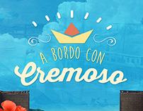 A bordo con Cremoso - 100 años del Canal Promoción