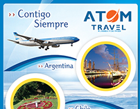 Revista Atom con Aerolíneas Argentinas 2014