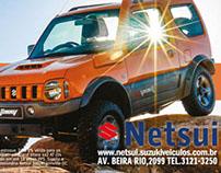 Anuncio Netsui - Suzuki