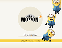 Motion Tv - Channel Branding