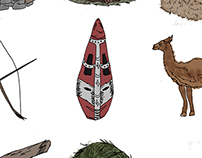 Ilustración | Tecnópolis - Pueblos Originarios