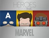 Marvel Héroes.