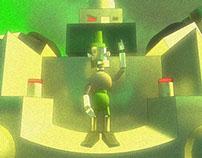 Personaje (El Mal Llevado) 3D
