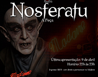 "Cartaz para peça ""Nosferatu"""