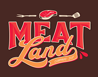 Branding / Marca / Conceito / Meatland Brasil